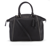 MICHAEL MICHAEL KORS Women's Riley Large Grommet Satchel - Black