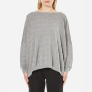 BOSS Orange Women's Izusal Jumper - Medium Grey