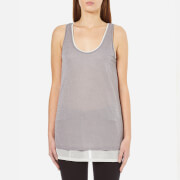 BOSS Orange Women's Terparty Top - Medium Grey