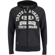 Tokyo Laundry Men's Hotchkiss Zip Through Hoody - Black