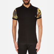 Versace Jeans Men's Sleeve Detail Polo Shirt - Acacia