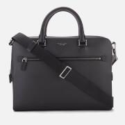 Michael Kors Men's Harrison Medium Front Zip Briefcase - Black