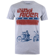Easy Rider Men's Choppers T-Shirt - Grey Marl