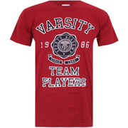 Varsity Team Players Men's Needle & Thread T-Shirt - Red