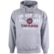 Varsity Team Players Men's University Athletic Hoody - Grey