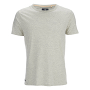 T-Shirt Homme Threadbare William - Blanc Cassé