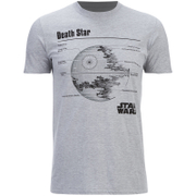 Star Wars Men's Death Star T-Shirt - Heather Grau