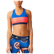 adidas Women's Stella Sport Padded Training Sports Bra - Blue