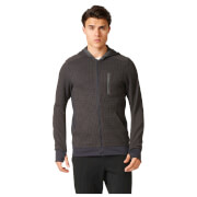 adidas Men's City Energy Running Hoody - Black