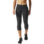 adidas Women's Ultimate Fit Training 3/4 Tights - Black