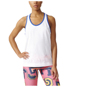 adidas Women's Stella Sport Aeroknit Training Tank Top - White