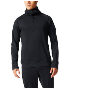 adidas Men's Climaheat Full Zip Training Hoody - Black
