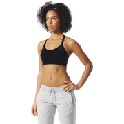adidas Women's Training Seamless Bra - Black