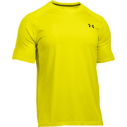 Under Armour Men's Tech Short Sleeve T-Shirt - Flash Light/Stealth Grey