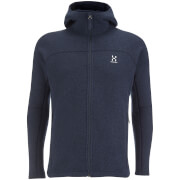 Haglofs Men's Swook Hood Zipped Fleece - Deep Blue