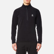 Haglofs Men's Astro II Half Zip Fleece - True Black