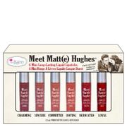 theBalm Meet Matt(e) Hughes Mini Liquid Lipsticks Kit