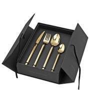 Broste Copenhagen Tvis Gold Cutlery Set