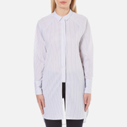 Selected Femme Women's Balia Long Shirt - Stripes