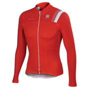 Sportful BodyFit Pro Thermal Long Sleeve Jersey - Red