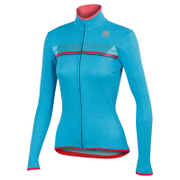 Sportful Women's Allure Thermal Long Sleeve Jersey - Turquoise