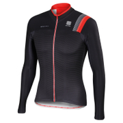 Sportful BodyFit Pro Thermal Long Sleeve Jersey - Black/Grey