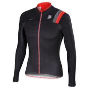 Sportful BodyFit Pro Thermal Long Sleeve Jersey - Black/Grey