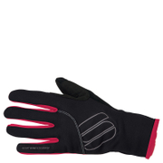 Sportful Women's Windstopper Essential Gloves - Black/Cherry