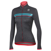 Sportful Women's Allure Thermal Long Sleeve Jersey - Grey
