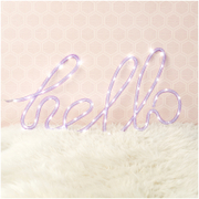 Nylon Hello - Purple
