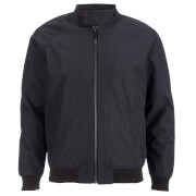 Brave Soul Men's Ellis Raglan Bomber Jacket - Navy