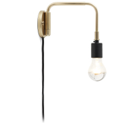 Menu Staple Wall Lamp - Brass