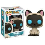 Figura Pop! Pets Vinyl Gato Siamés