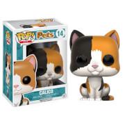 Figurine Pop! Pets Chat Tricolore Funko Pop!