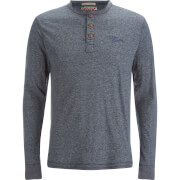 Haut Tokyo Laundry pour Homme Timber Henley -Marine