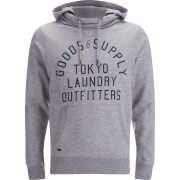 Tokyo Laundry Men's Franklin Valley Hoody - Light Grey Marl
