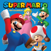 Super Mario Bros. Calendar 2017