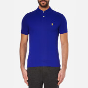Polo Ralph Lauren Men's Slim Fit Short Sleeved Polo Shirt - Heritage Royal