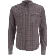 Smith & Jones Men's Porticus Check Shirt - Steel Grey