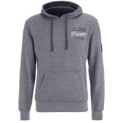 Sweat à Capuche Smith & Jones pour Homme Aeolic -Marine Chiné
