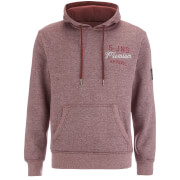 Sweat à Capuche Smith & Jones pour Homme Aeolic -Bordeaux Chiné