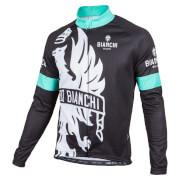 Bianchi Sorisole Long Sleeve Jersey - Black/Green