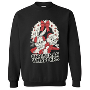Sweat Homme - Warner Brothers Bugs Bunny Christmas - Noir