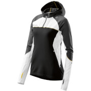 Skins Plus Women's Orion Long Sleeve Hoody - Black/Cloud