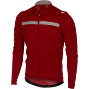 Castelli Costante Long Sleeve Jersey - Red/Grey