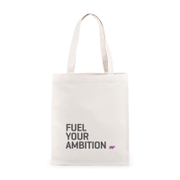 Fuel Your Ambition Slogan Canvas Tas