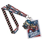 Cinta para colgar Pop! Lanyard Capitán América