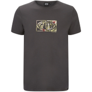 Animal Men's Claw Back Print T-Shirt - Ashpalt Grey