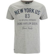 Threadbare Men's Pine T-Shirt - Grey Marl