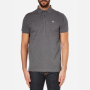 Hackett London Men's Tailored Logo Polo Shirt - Charcoal
